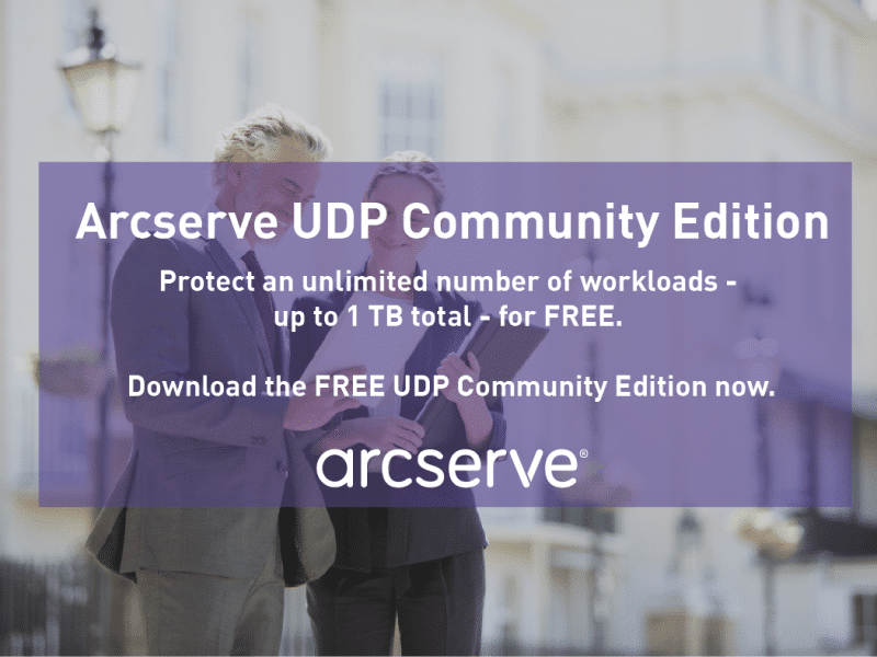 Arcserve Community Edition