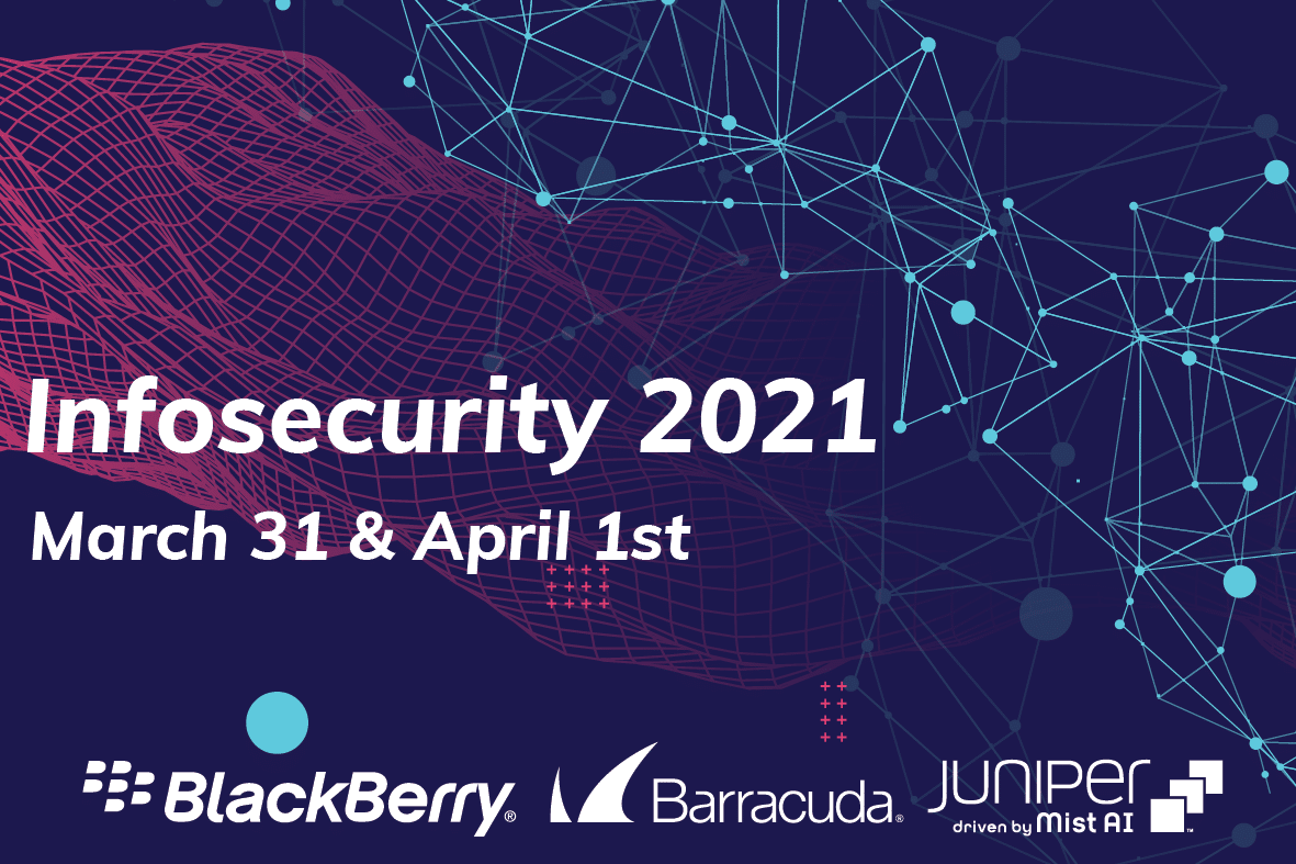 Infosecurity 2021 - online event - 31 maart - 1 april