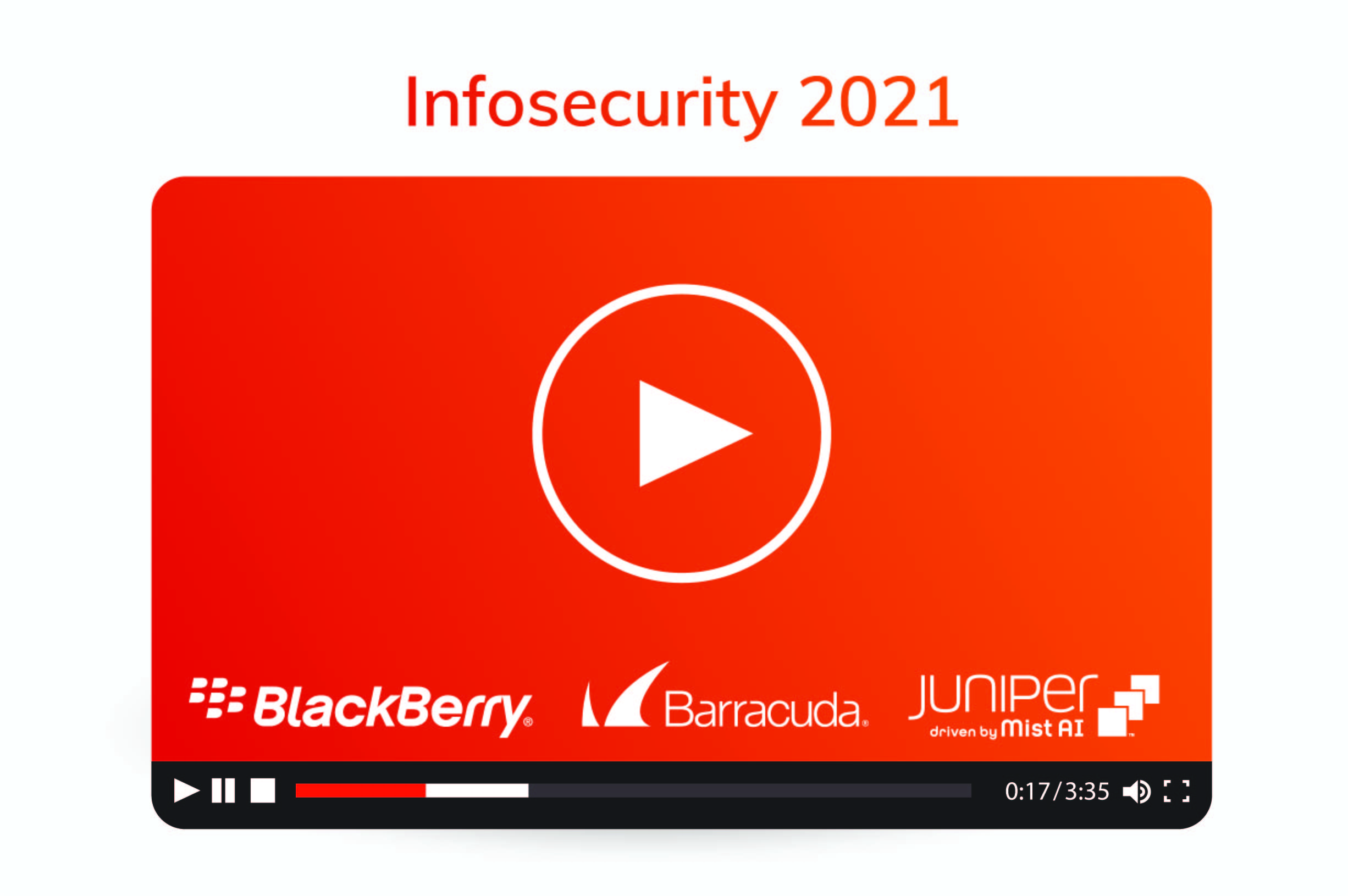 YouTube video Infosecurity 2021